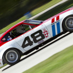 John Morton competed in E Production with a 1972 Datsun 240Z painted with the Team BRE livery of the car he won National Championships with in 1970 and 71. (Shawn Mueller Photo)