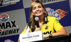 Erica Enders-Stevens. (Adam Fenwick Photo)