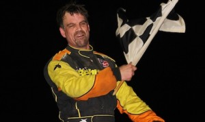 Jeff Strunk won Saturday night's Freedom 76 modified race at Pennsylvania's Grandview Speedway. (Dave Dalesandro photo)