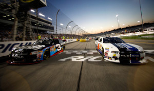 The NASCAR Nationwide Series will run the 1,000th race in series history this weekend at Richmond (Va.) Int'l Raceway. (NASCAR Photo)