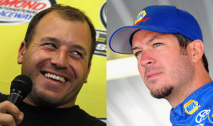 NASCAR handed out penalties late Monday that put Ryan Newman (left) into the Chase and bumped Martin Truex Jr. (right) out. (NASCAR Photos)