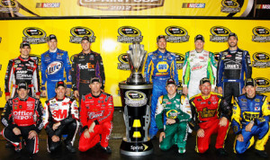 With only one race left before The Chase cut off, 12 drivers are vying for six open spots in the 2013 Chase for the Sprint Cup. (NASCAR Photo)