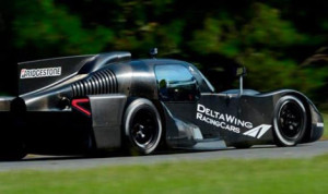 The DeltaWing Coupe completed a successful two-day test this week at Roebling Road Raceway.