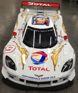 TOTAL will sponsor Action Express Racing's No. 9 Corvette DP in the final two Grand-Am races of 2013.