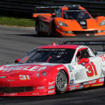 Boris Said and Eric Curran picked up the victory in the GT class aboard the Marsh Racing Corvette Saturday at Lime Rock Park. (Grand-Am Photo)