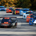 The No. 10 Wayne Taylor Racing entry leads the Grand-Am field Saturday at Lime Rock Park. (Grand-Am Photo)