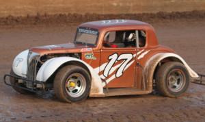 Jim Bucher on track this season at Wisconsin's Beaver Dam Raceway. (Bob Cruse Photo)