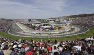NASCAR Sprint Cup Series teams tested at Martinsville Speedway on Tuesday. (HHP/Gregg Ellman Photo)