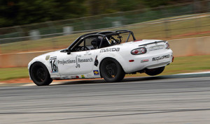 John Dean captures the pole for Round 11 of the Mazda MX-5 Cup at Road Atlanta. (Photo: Alison Merion Padron)