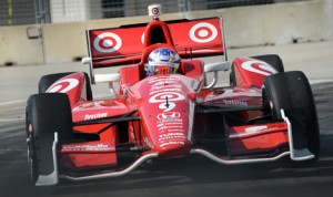 Scott Dixon won Saturday's first race of the IZOD IndyCar Series doubleheader in Houston, Texas. (IndyCar Photo)