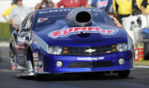 Jason Line sits third in the NHRA Pro Stock standings heading into the weekend at Las Vegas. (NHRA Photo)
