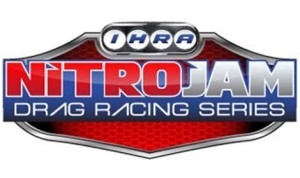 The new IHRA Nitro Jam Drag Racing Series logo