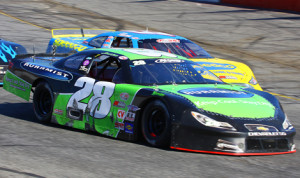 Jared Irvan (28), seen here at Hickory (N.C.) Motor Speedway, will drive a car owned by his father Ernie Irvan during the 2014 PASS South season. (Chris Owens Photo)
