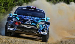 Hoonigan Racing's Ken Block and Alex Gelsomino are part of the Rally America tour.