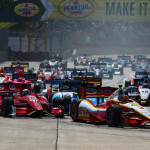 Full-points doubleheader races on the Belle Isle, Houston and Toronto street courses return for a second year after producing scintillating action in 2013. (IndyCar Photo)