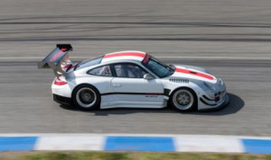 A to-be-named team has plans to run a two-car 911 GT3 R team in GT in 2014.  (Photo: Pirelli World Challenge)