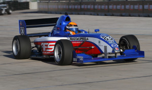 Matthew Brabham claimed his 12th Pro Mazda Championship victory of 2013 Saturday in Houston. (Pro Mazda Photo)