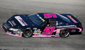 Erik Jones drove to victory in the Winchester 400 Sunday afternoon at Winchester Speedway. (Stan Kalwasinski Photo)