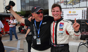 Scott Hargrove locked up the USF2000 Championship Series title Saturday in Houston. (USF2000 Photo)