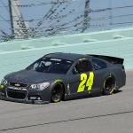 2013 Homestead winner Jeff Gordon drives his No. 24 Chevrolet at Homestead-Miami Speedway in Homestead, Florida.