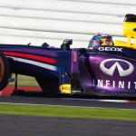 Sebastian Vettel on his way to victory in the Japanese Grand Prix on Sunday at the Suzuka Circuit. (Steve Etherington Photo)