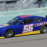 Martin Truex Jr. drives during a driver test at Homestead-Miami Speedway in Homestead, Florida.