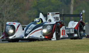 Klaus Graf and Lucas Luhr won again in American Le Mans Series competition Saturday at Virginia Int'l Raceway. (Dan R. Boyd/ALMS Photo)