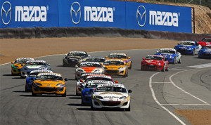 The Mazda Club Racer Shootout winner will receive a $75,000 prize to fund a drive in the 2014 Mazda MX-5 Cup. (Mazda Photo)