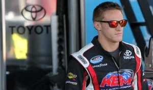Kligerman, 22, is a full-time competitor in the NASCAR Nationwide Series driving for Kyle Busch Motorsports in the No. 77 Toyota, where he is currently 10th in points. (Photo: HHP/Christa L. Thomas)