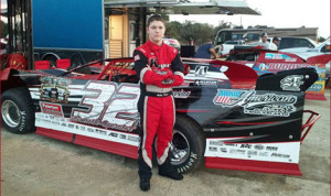 Bobby Pierce hopes his previous success on dirt will translate to the asphalt. (Bobby Pierce Racing Photo)