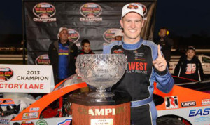 Ryan Preece claimed his first NASCAR Whelen Modified Tour championship on Sunday at Thompson (Conn.) Int'l Speedway. (NASCAR Photo)