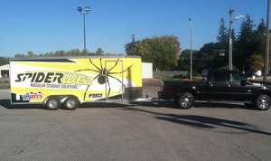 SpiderWeb has partnered with America's favorite dirt modified series to be the Official Storage Solution of the USMTS. (Photo; Spiderweb)