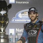 Austin Dillon wins the 2013 NASCAR Nationwide Series Championship during the Ford 300 at Homestead-Miami Speedway in Homestead FL. (HHP/Harold Hinson)