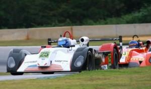 Joel Janco races the No. 25 entry at Road Atlanta earlier this year.