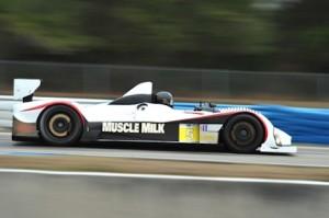 The Pickett Racing Prototype Challenge car.