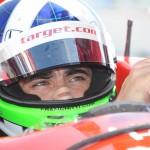 Dario Franchitti during the 2012 IndyCar Series season. (Al Steinberg Photo)