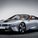 BMW will show off the i8, Concept Roadster, its open-top two-seater which embodies a form of personal mobility with equal sporting and emotional appeal. (BMW Photo)