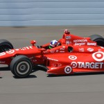 Dario Franchitti on track at Indianapolis Motor Speedway in 2013. (Dave Heithaus Photo)