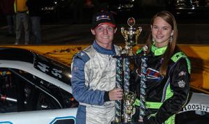 Dillon Bassett, shown here with Heather Cartland, Miss UARA, is the 2013 UARA champion. (Photo: Drew Hierwarter)