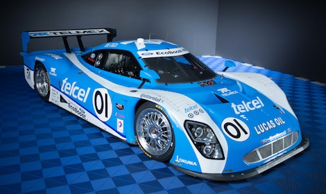 Chip Ganassi Racing with Felix Sabates' entry in the TUDOR United SportsCar Championship will be powered by a 3.5-liter V-6 Ford EcoBoost engine. (Ford Motor Co. photo)