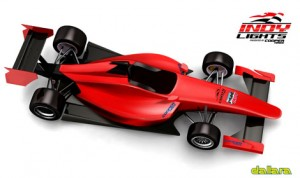 A rendering of the top of the new Indy Lights chassis being built by Dallara.
