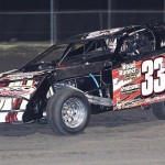 Zack VanderBeek on his way to victory in Saturday's USMTS finale at Royal Purple Raceway in Texas. (RonSkinnerPhotos.com Photo)