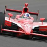 Dario Franchitti during the 2011 IndyCar Series season. (IndyCar Photo)
