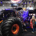 A real 'Monster' of a truck seen at SEMA 2013 at the Las Vegas Convention Center. (Ralph Sheheen Photo)