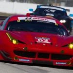 Ferrari tested its 2014 ride at Sebring (Fla.) Int'l Raceway. (Ted Rossino Photo)
