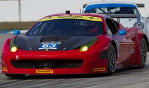Alessandro Balzan and Jeff Westphal will drive the No. 63 Ferrari 458 Italia for Scuderia Corsa in the 2014 TUDOR United SportsCar Championship. (Ted Rossino Photo)
