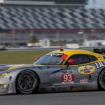 The Dodge Viper SRT on track during testing at Daytona Int'l Speedway this week. (Ted Rossino Photo)