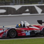 The Performance Tech ORECA FLM09 on track during testing at Daytona Int'l Speedway. (Ted Rossino Photo)