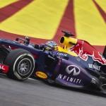 Sebastian Vettel on track during Sunday's Brazilian Grand Prix. (Steve Etherington Photo)