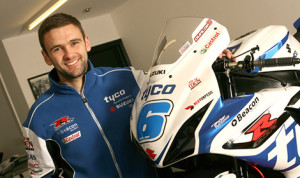 William Dunlop's 2013 TT campaign included a victory in the second Supersport race at the Ulster Grand Prix. (Photo: Suzuki)